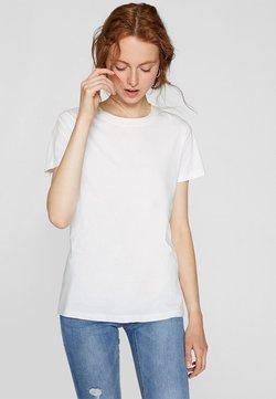 Stradivarius - T-Shirt basic - white