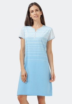 hajo Polo & Sportswear - KLIMA-KOMFORT - Nachthemd - hellblau