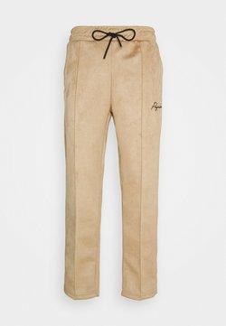 Pegador - WIDE PANTS - Trousers - almond