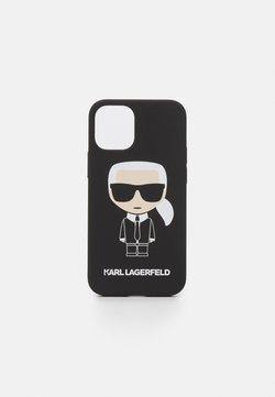 KARL LAGERFELD - IKONIK CASE IPHONE 12 MINI - Kännykkäpussi - black