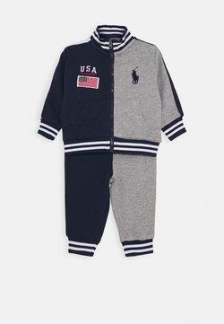 Polo Ralph Lauren - HOOK UP SET - Sudadera con cremallera - newport navy