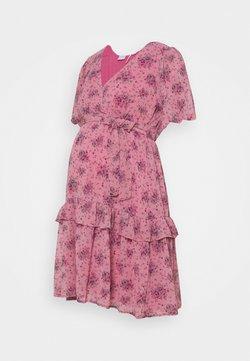 MAMALICIOUS - MLSASSY SHORT DRESS - Vestido informal - pink