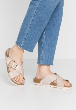 Birkenstock - SIENA - Hausschuh - washed metallic rose gold