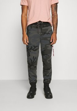 Alpha Industries - FIT PANT - Verryttelyhousut - black