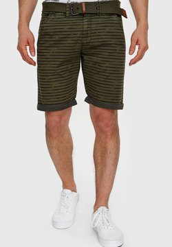 INDICODE JEANS - ARROYO - Shorts - army