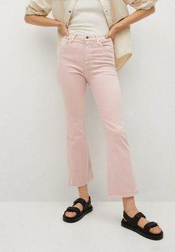Mango - Bootcut-farkut - pink