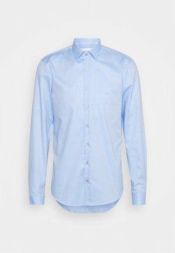 Calvin Klein Tailored - DOBBY EASY CARE SLIM SHIRT - Businesshemd - blue