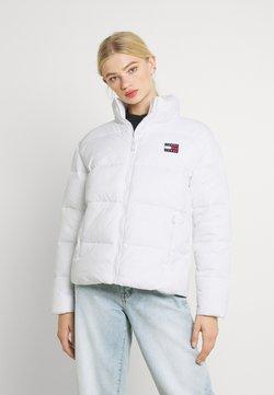 Tommy Jeans - MODERN PUFFER JACKET - Winterjacke - white