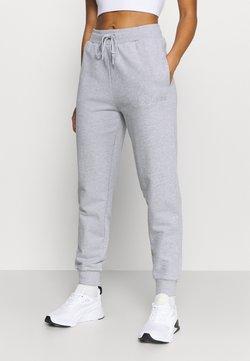 Guess - CUFF PANT - Jogginghose - light melange grey