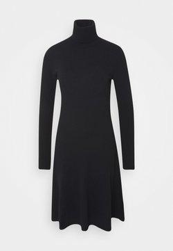Benetton - DRESS - Jumper dress - black