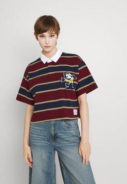 Levi's® - X FELIX CROP RUGBY - Poloshirt - cabernet