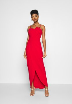 WAL G. - PANEL DETAIL LONG DRESS - Occasion wear - red