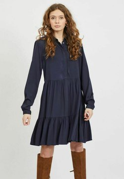 Vila - VIMOROSE DRESS - Vestido camisero - navy blazer