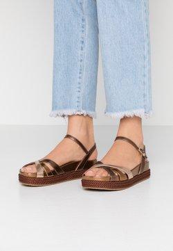 Liu Jo Jeans - PATTY  - Korkeakorkoiset sandaalit - brass