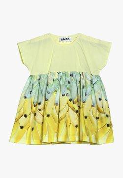 Molo - CHANNI - Korte jurk - yellow