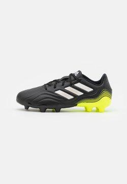 adidas Performance - COPA SENSE.3 FG UNISEX - Tekonurmikengät - core black/footwear white/solar yellow