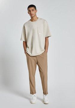 PULL&BEAR - Pantaloni - brown