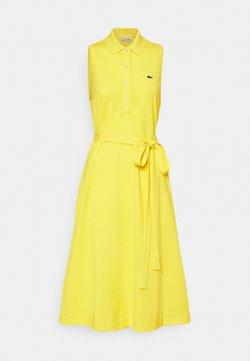 Lacoste - Vestido camisero - pineapple