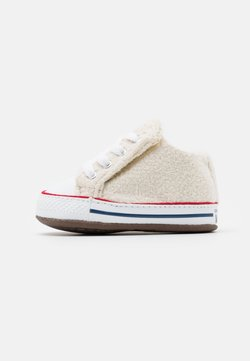 Converse - CHUCK TAYLOR ALL STAR CRIBSTER UNISEX - Krabbelschuh - natural ivory/white