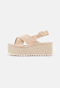 KHARISMA - Korkeakorkoiset sandaalit - beige