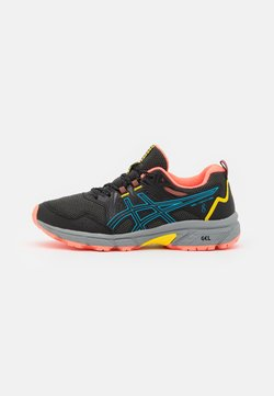 ASICS - GEL-VENTURE 8 - Laufschuh Trail - black/digital aqua