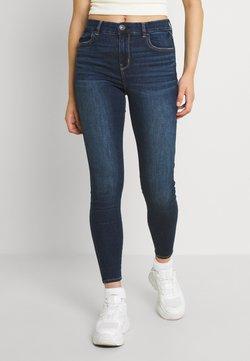 American Eagle - CURVY - Jeans Skinny - dark reflections