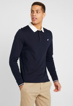 Pier One - MUSCLE FIT - Poloshirt - dark blue