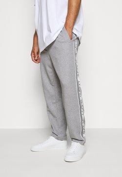 GANT - STRIPES PANTS - Jogginghose - grey melange