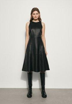 Massimo Dutti - Cocktailkleid/festliches Kleid - black