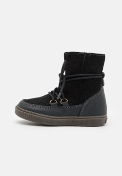 Wheat - KAYA LACE TEX BOOTIE - Bottes de neige - black