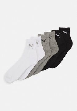 Puma - SHORT CREW UNISEX 6 PACK - Urheilusukat - grey/white/black
