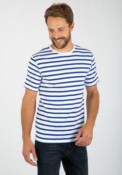 Armor lux - MORGAT MARINIÈRE - T-Shirt print - blanc etoile