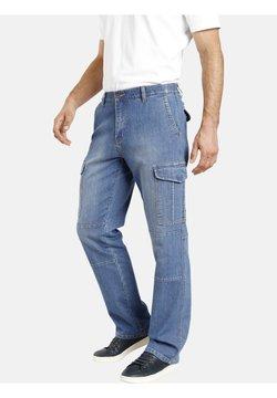 Jan Vanderstorm - Pantalon cargo - blau