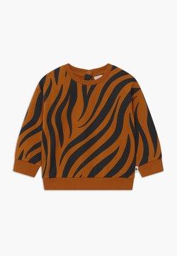 Lindex - ZEBRA UNISEX - Sweatshirt - brown