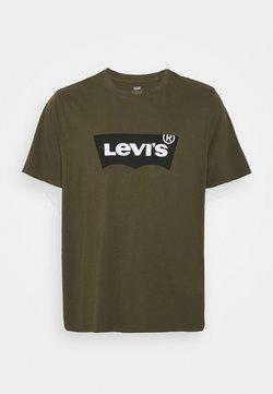 Levi's® Plus - BIG GRAPHIC TEE - T-shirt imprimé - olive night