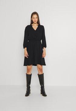 Vila - VIVISH DRESS - Korte jurk - black solid