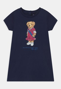 Polo Ralph Lauren - BEAR SET - Jerseykleid - newport navy