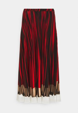Paul Smith - WOMENS SKIRT - A-Linien-Rock - red/black