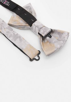 Twisted Tailor - NILUS BOWTIE - Fliege - champagne/grey