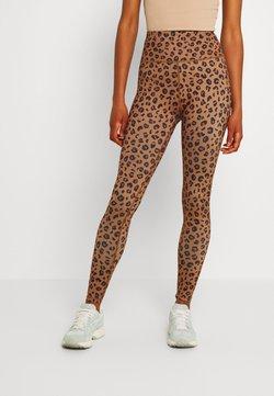 Never Fully Dressed - LEOPARD - Leggings - Hosen - brown