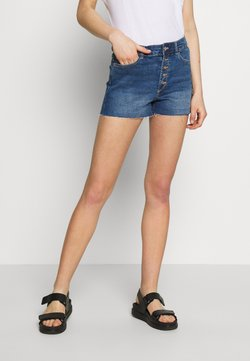 ONLY - ONLHUSH SHORTS MED BLUE CRE0 - Shorts di jeans - medium blue denim