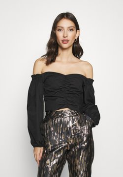 Miss Selfridge - BARDOT - Bluse - black