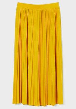 C&A - Spódnica trapezowa - yellow