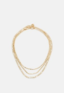 Pieces - PCDIDDY COMBI NECKLACE 3 PACK - Necklace - gold-coloured