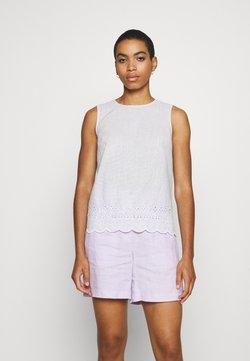 Esprit - STRIPED BLOUSE - Bluse - white