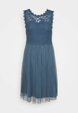 Vila - VILYNNEA DRESS - Ballkleid - china blue