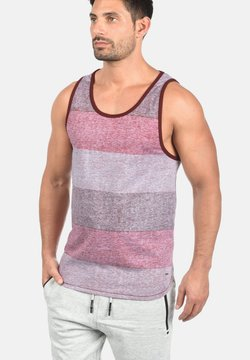 Solid - TANKTOP CHARAN - Top - wine red