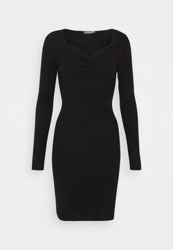 Fashion Union Tall - OBERLIN - Gebreide jurk - black