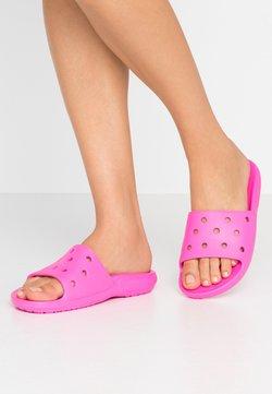 Crocs - CLASSIC SLIDE - Badesandale - pink