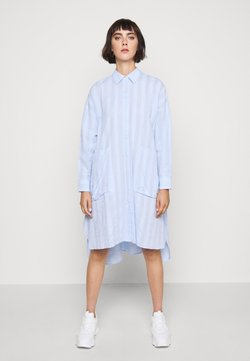 Henrik Vibskov - FRIENDSHIP SHIRTDRESS - Blusenkleid - light blue